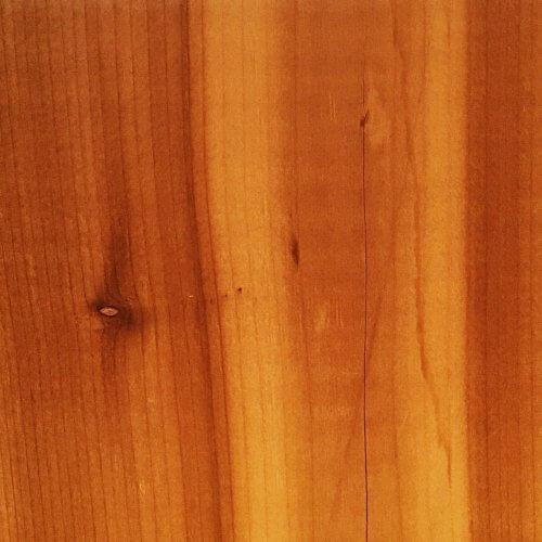 ウッドデッキ材のウエスタンレッドシダー